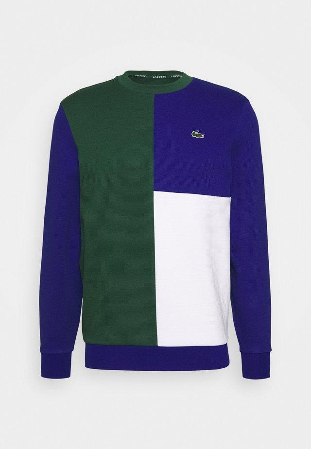 BLOCK - Sweatshirt - green/cosmic white