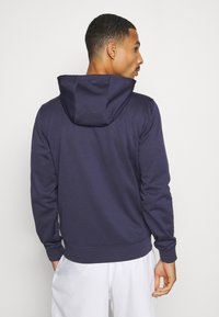 Lacoste Sport - TECH HOODIE - Zip-up hoodie - touareg chine/navy blue - 2