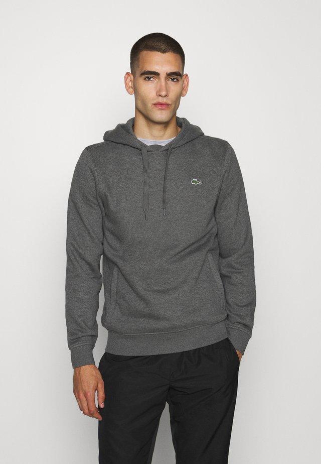 CLASSIC HOODIE - Bluza z kapturem - pitch chine/graphite sombre