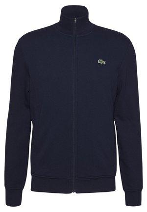 CLASSIC JACKET - Zip-up hoodie - navy blue