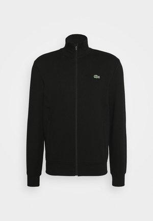 CLASSIC JACKET - veste en sweat zippée - black