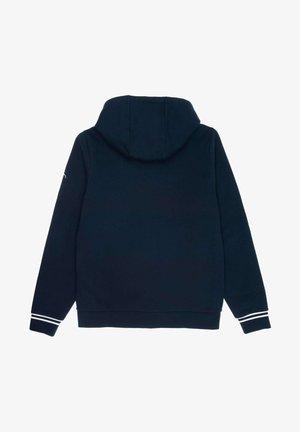 SH4759 - Zip-up hoodie - bleu marine / gris chine / blanc