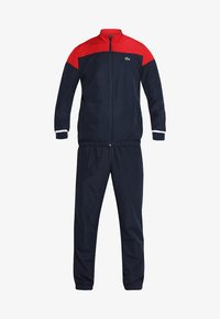 Lacoste Sport - TRACKSUIT - Survêtement - red/navy blue/white - 10