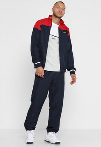 Lacoste Sport - TRACKSUIT - Survêtement - red/navy blue/white - 1