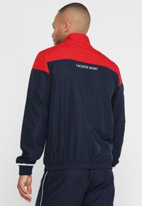 Lacoste Sport - TRACKSUIT - Survêtement - red/navy blue/white - 2