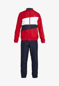 Lacoste Sport - TRACKSUIT - Dres - red/white/navy blue - 6