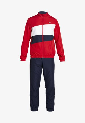 TRACKSUIT - Träningsset - red/white/navy blue