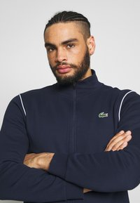 Lacoste Sport - TRACKSUIT - Tracksuit - navy blue/white - 6