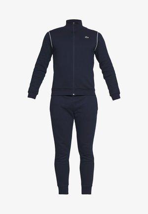 TRACKSUIT - Trainingsanzug - navy blue/white