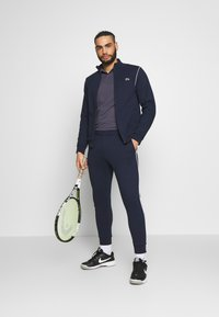Lacoste Sport - TRACKSUIT - Tracksuit - navy blue/white - 1