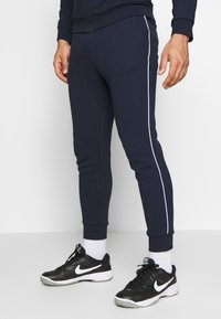 Lacoste Sport - TRACKSUIT - Tracksuit - navy blue/white - 4