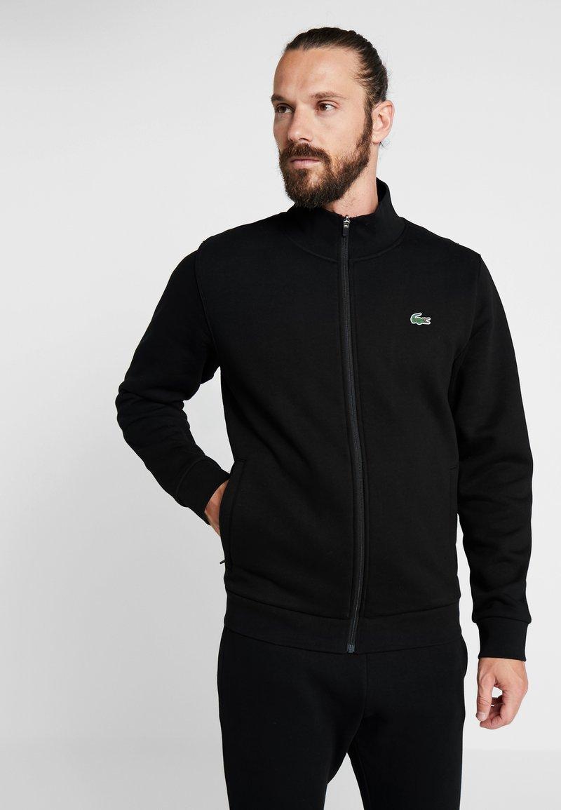 Lacoste Sport - TRACKSUIT - Träningsset - black