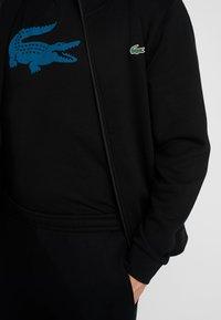 Lacoste Sport - TRACKSUIT - Trainingsanzug - black - 7