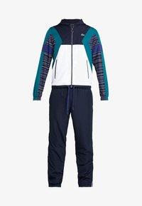Lacoste Sport - TRACKSUIT - Trainingspak - navy blue/white/ivy/ocean - 8