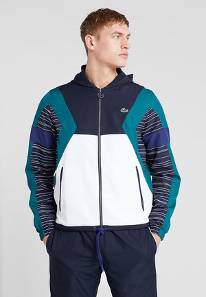 TRACKSUIT - Chándal - navy blue/white/ivy/ocean