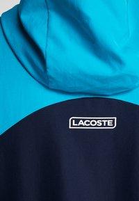 Lacoste Sport - TRACKSUIT HOODED SET - Träningsset - navy blue/haiti blue/lemon/white - 9