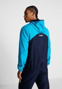 Lacoste Sport - TRACKSUIT HOODED SET - Träningsset - navy blue/haiti blue/lemon/white - 2
