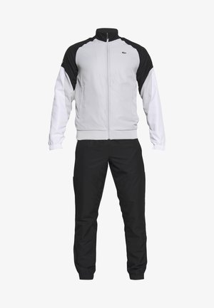 TRACKSUIT - Trainingsanzug - calluna/black/white