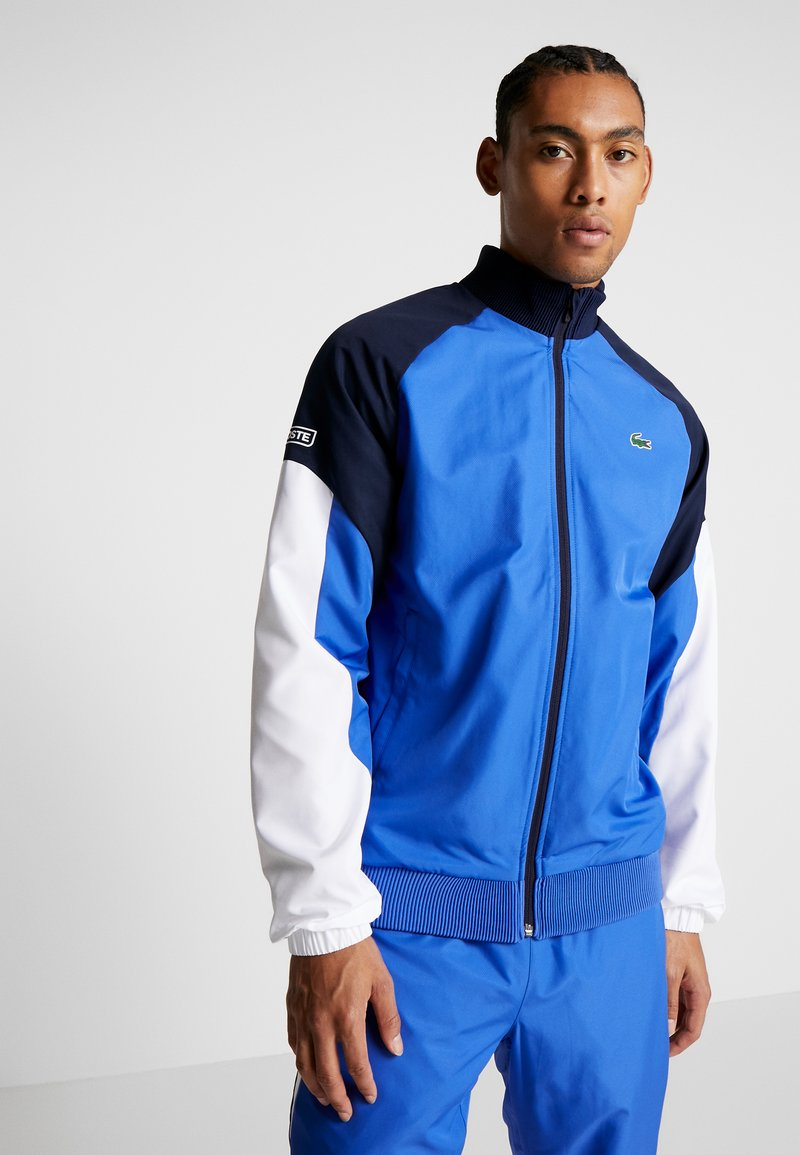 Lacoste Sport - TRACKSUIT - Trainingspak - obscurity/navy blue/white