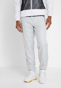 Lacoste Sport - TRACKSUIT HOODED - Träningsset - white/black - 2