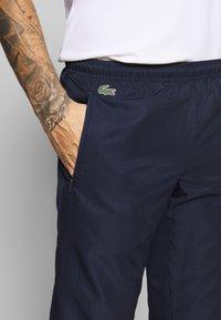 Lacoste Sport - TRACKSUIT HOODED - Survêtement - navy blue/white - 7