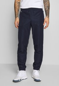 Lacoste Sport - TRACKSUIT HOODED - Survêtement - navy blue/white - 3