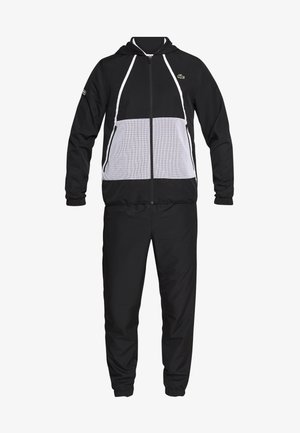 TRACKSUIT HOODED - Survêtement - black/white