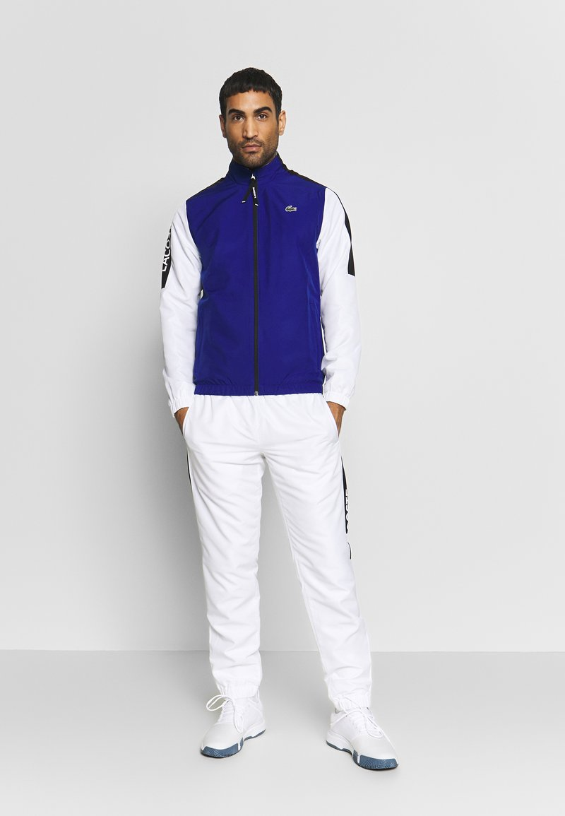 Lacoste Sport - TRACKSUIT - Chándal - cosmic/white/black