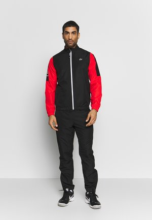 TRACKSUIT - Survêtement - black/corrida/white
