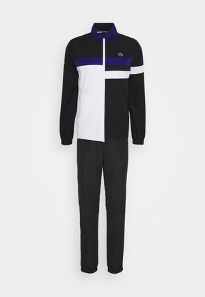 TENNIS TRACKSUIT - Tracksuit - black/white/cosmic
