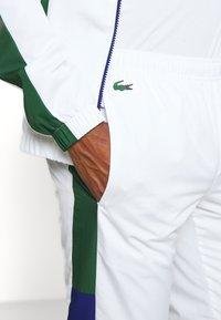 Lacoste Sport - TENNIS TRACKSUIT - Survêtement - cosmic/white/green - 8