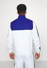 Lacoste Sport - TENNIS TRACKSUIT - Survêtement - cosmic/white/green - 2