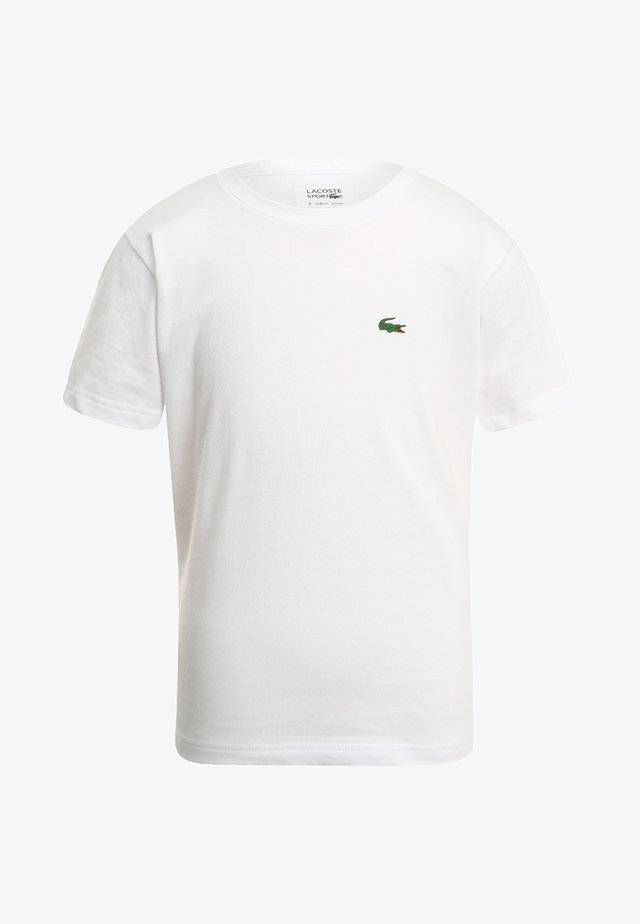 LOGO UNISEX - Basic T-shirt - white