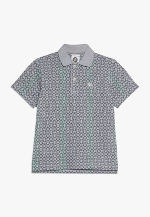 TENNIS ROLAND GARROS - Poloshirt - silver chine/navy blue/woodland green