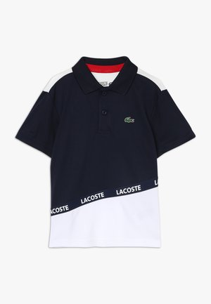 TENNIS - T-shirt sportiva - navy blue/white/red