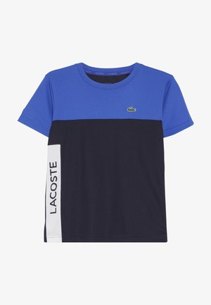 TENNIS  - Print T-shirt - obscurity/navy blue white