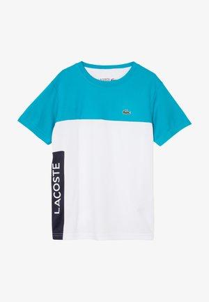 TENNIS  - T-shirt imprimé - cuba/white/navy blue