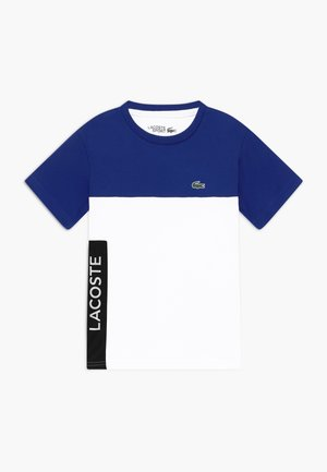 TENNIS  - Print T-shirt - cosmic/white-black