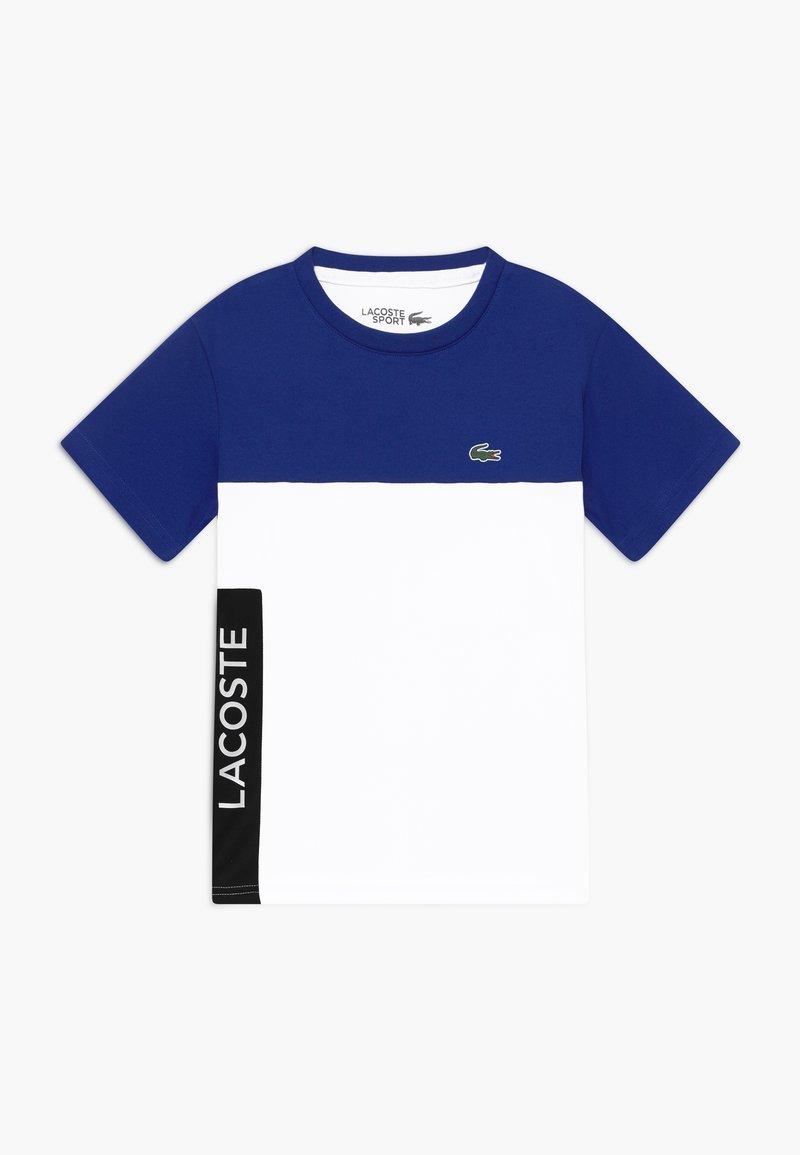 Lacoste Sport - TENNIS  - T-shirt med print - cosmic/white-black