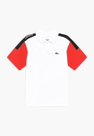 TENNIS - Funkční triko - white/corrida/black