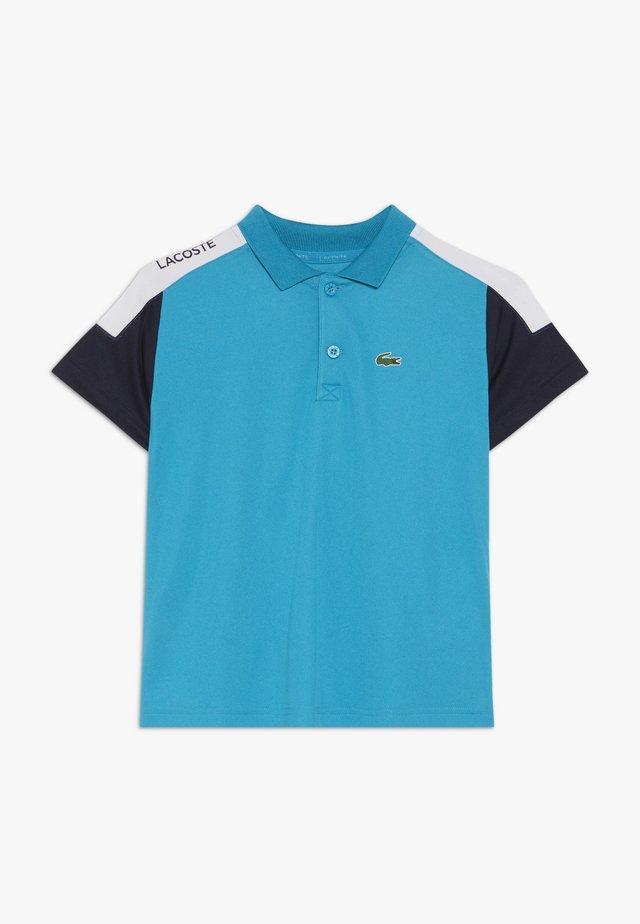 TENNIS - Sports shirt - cuba/navy blue/white
