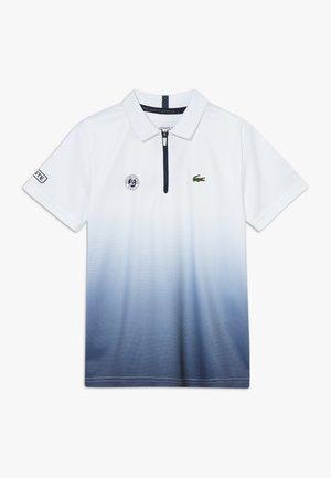 TENNIS ROLAND GARROS - Sports shirt - white/navy blue