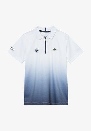 TENNIS ROLAND GARROS - Funkční triko - white/navy blue
