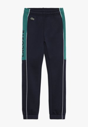 Tracksuit bottoms - navy blue/ivy white