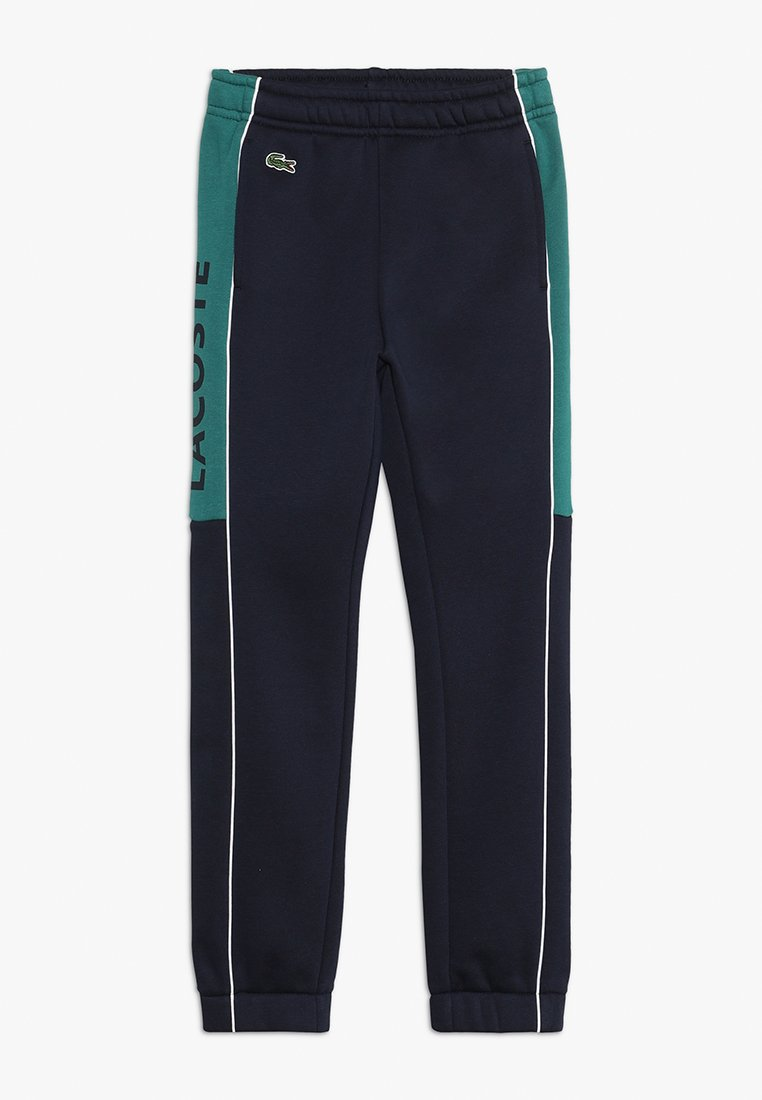 Lacoste Sport - Träningsbyxor - navy blue/ivy white