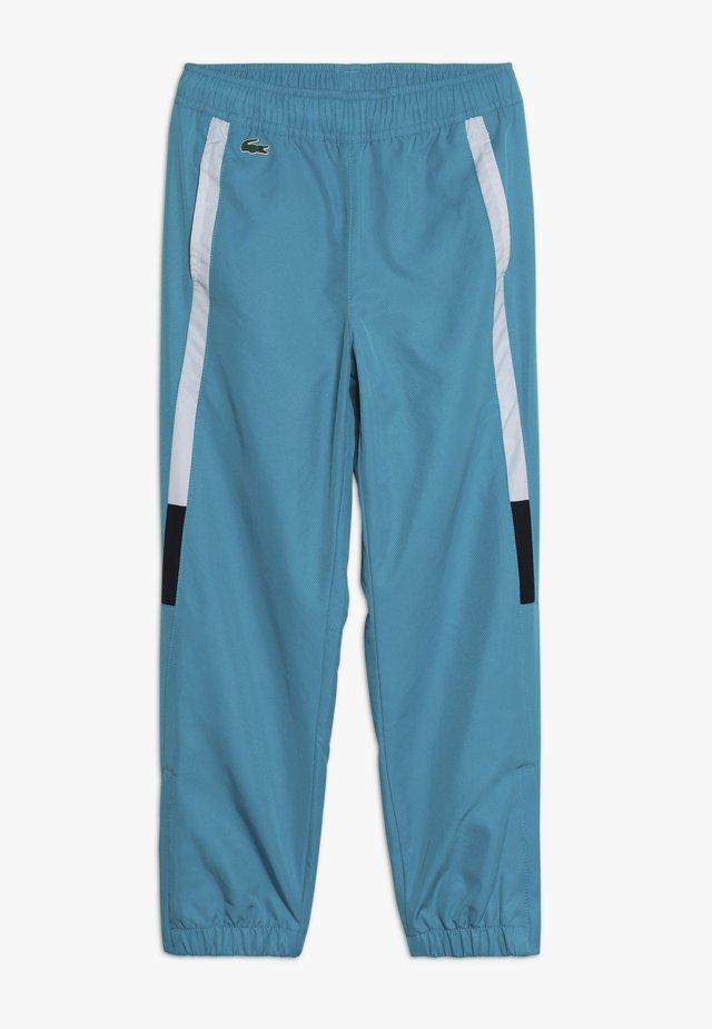 TENNIS PANT - Tracksuit bottoms - cuba/white/navy blue
