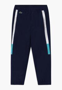 Lacoste Sport - TENNIS PANT - Pantalon de survêtement - navy blue/white haiti/blue - 0
