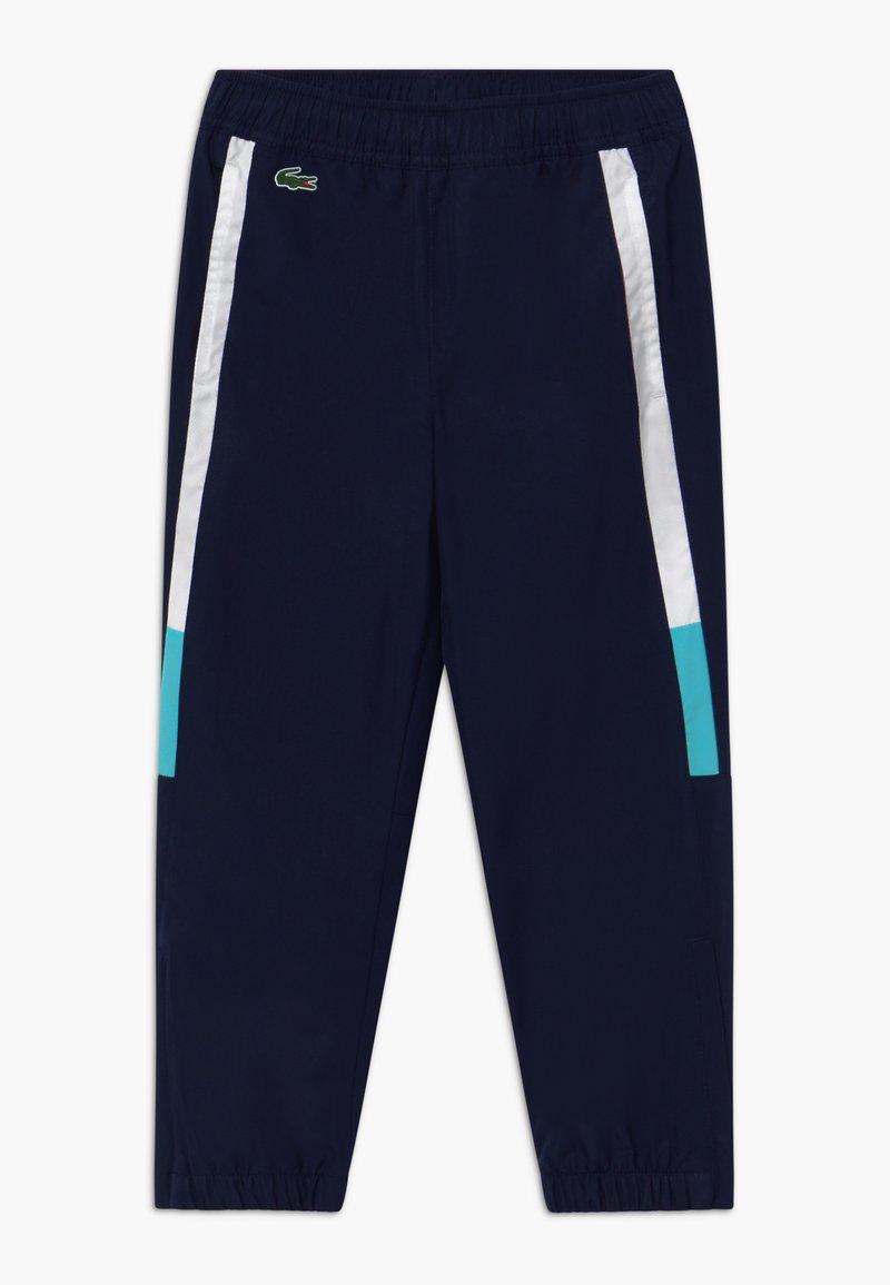 Lacoste Sport - TENNIS PANT - Pantalon de survêtement - navy blue/white haiti/blue
