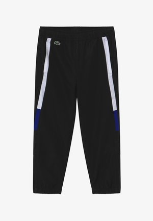 TENNIS PANT - Pantalon de survêtement - black/white cosmic