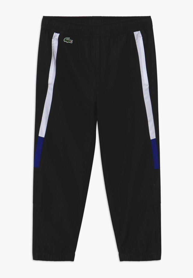 TENNIS PANT - Tracksuit bottoms - black/white cosmic